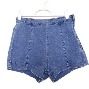 H & M   High waist shorts